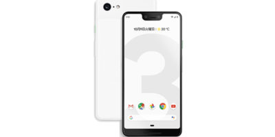 Google Pixel 3 XL クリアリーホワイト