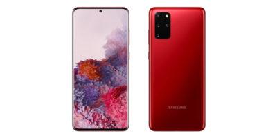 Samsung Galaxy S20+ Aura Red