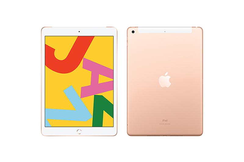 Apple iPad(第7世代) Wi-Fi+Cellularモデル ゴールド