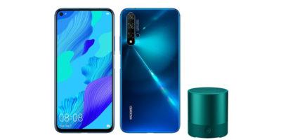 Huawei nova 5TとMini Speaker
