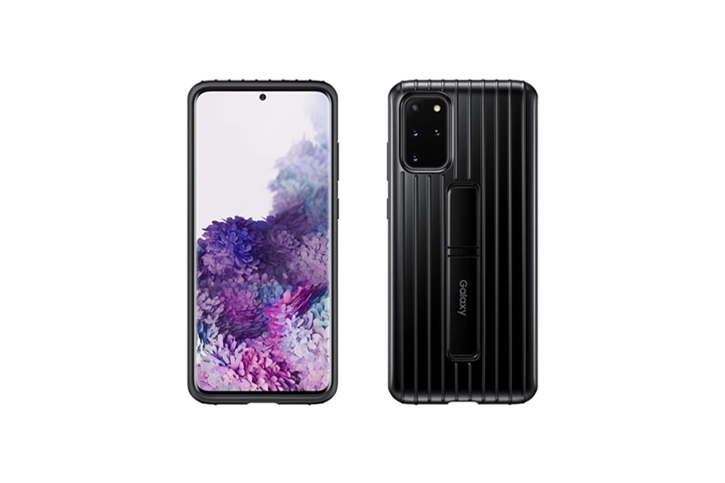 Samsung Galaxy S20+ Protective Standing Cover ブラック