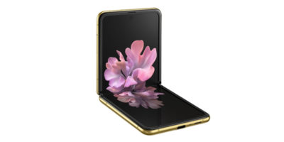 Samsung Galaxy Z Flip Mirror Gold