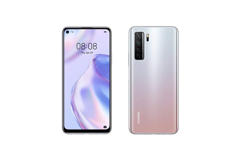 Huawei P40 lite 5G スペースシルバー