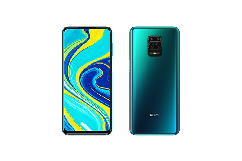Xiaomi Redmi Note 9S オーロラブルー