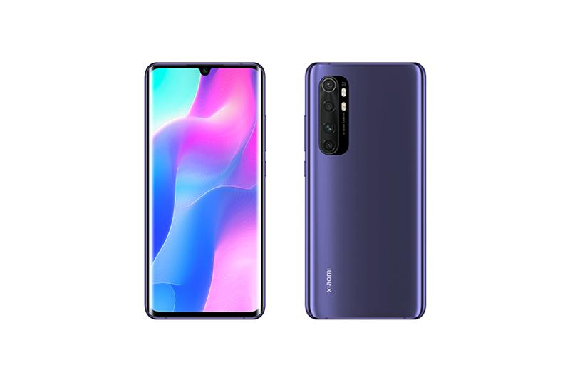 Xiaomi Mi Note 10 Lite ネブラパープル