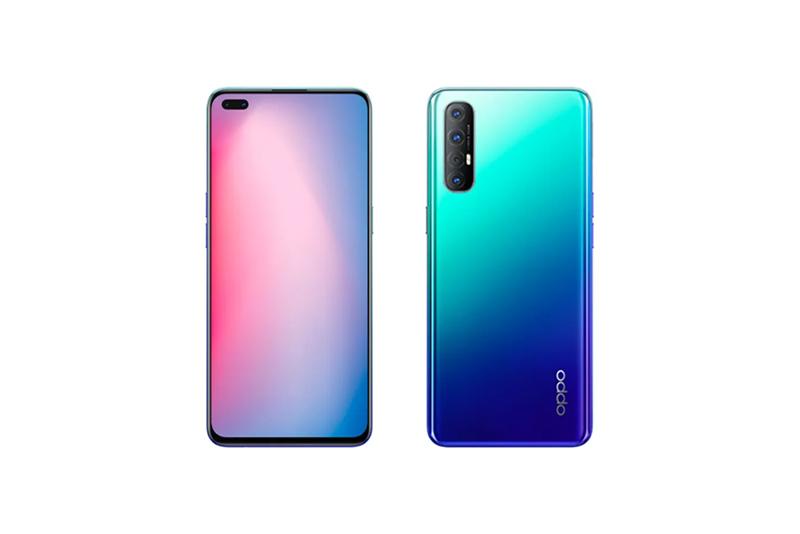 OPPO Reno3 Pro Auroral Blue