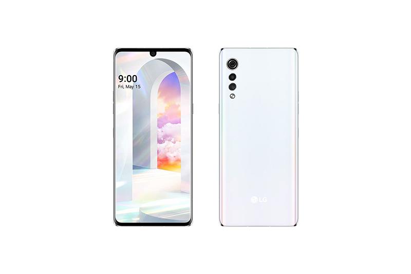 LG Velvet 5G Aurora White