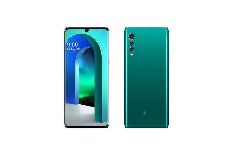 LG Velvet 5G Aurora Green