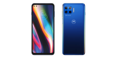 Motorola moto g 5G plus Surfing Blue