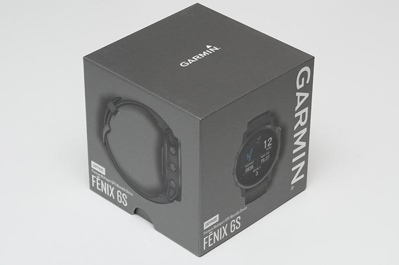 Garmin Fenix 6S(アジア版)のパッケージボックス