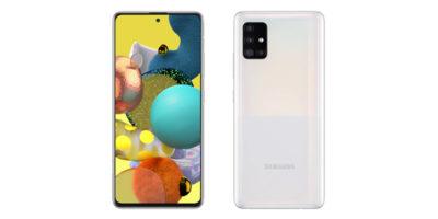 Samsung Galaxy A51 5G Prism Cube White