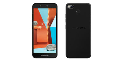 Fairphone 3+ Black
