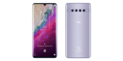 TCL 10 Plus Starlight Silver