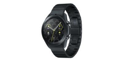 Samsung Galaxy Watch3 Titanium Mystic Black