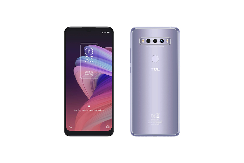 TCL 10 SE Icy Silver