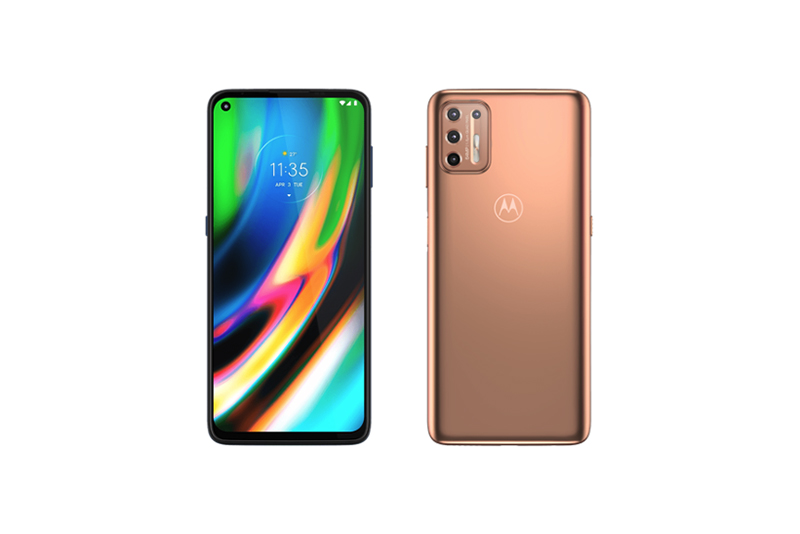 Motorola moto g9 plus Blush Gold