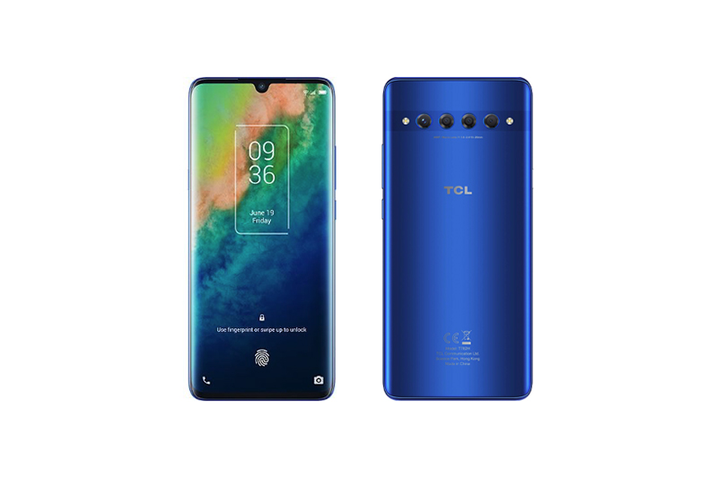 TCL 10 Plus Moonlight Blue