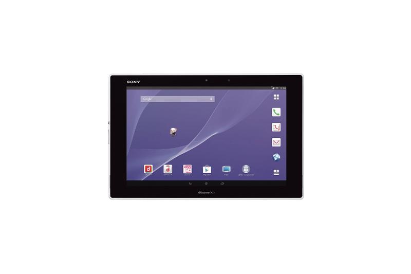 NTTドコモ Xperia Z2 Tablet SO-05F ホワイト