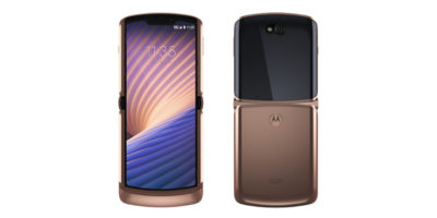 Motorola razr 5G Blush Gold