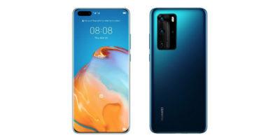Huawei P40 Pro Deep Sea Blue