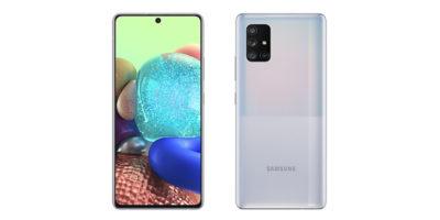 Samsung Galaxy A71 5G Prism Cube Silver