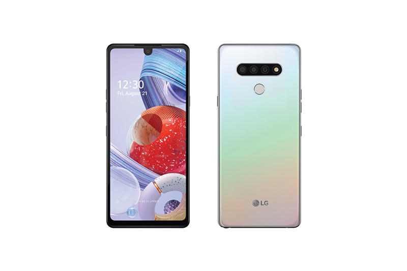 LG Stylo 6 Holographic White