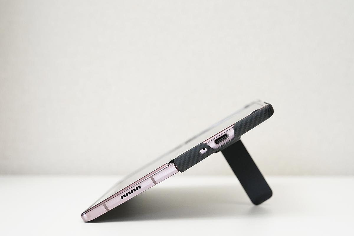 Aramid Standing Cover(アラミドスタンディングカバー) for Samsung Galaxy Z Fold2 5G EF-XF916S