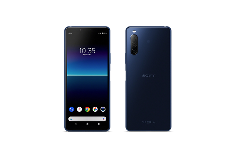 Y!mobile Xperia 10 II A001SO ブルー