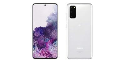 au Galaxy S20+ SCG01 Cloud White