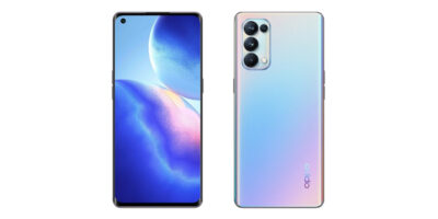 OPPO Reno5 Pro 5G Galactic Silver