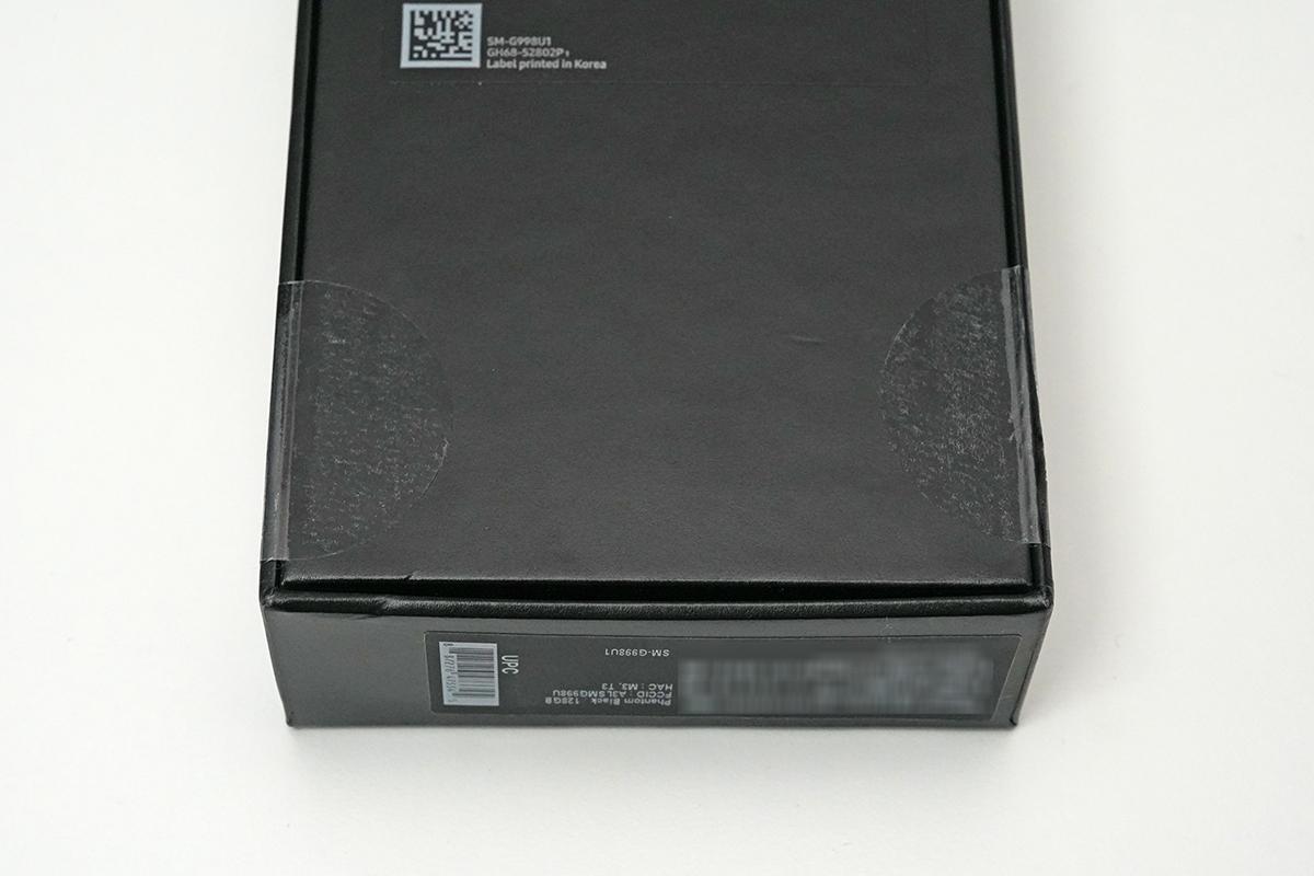Galaxy S21 Ultra 5G SM-G998U1のパッケージ