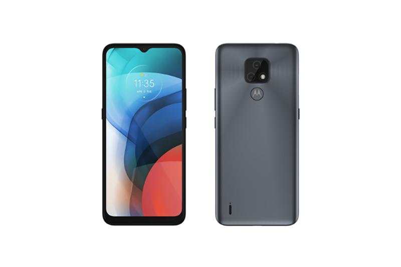 Motorola moto e7 ミネラルグレイ