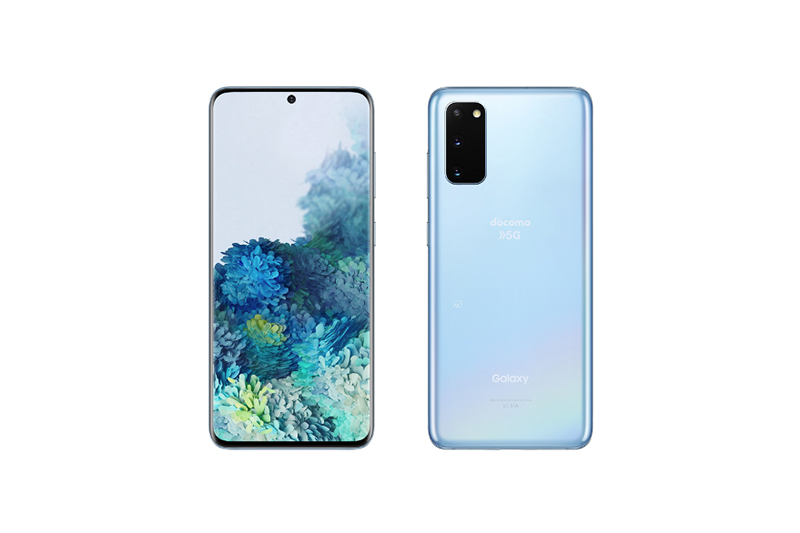 NTTドコモ Galaxy S20 5G SC-51A クラウドブルー