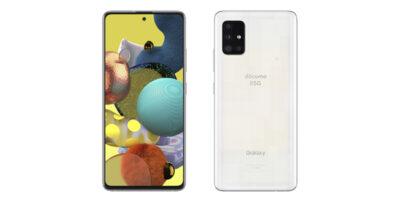 NTTドコモ Galaxy A51 5G SC-54A プリズムブリックスホワイト