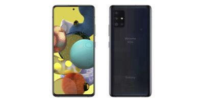 NTTドコモ Galaxy A51 5G SC-54A プリズムブリックスブラック