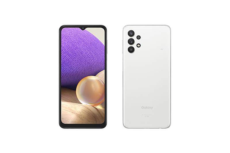 KDDI au Galaxy A32 5G SCG08 オーサムホワイト