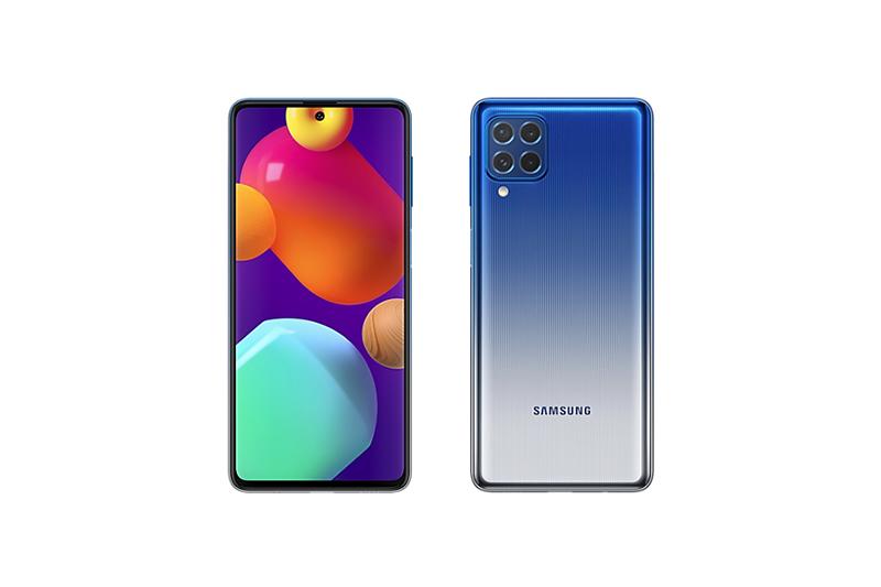 Samsung Galaxy M62 Blue