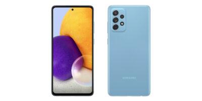 Samsung Galaxy A72 Awesome Blue