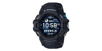 CASIO G-SQUAD PRO GSW-H1000 ブラック×ブルー