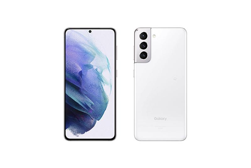 au Galaxy S21 5G SCG09 ファントムホワイト