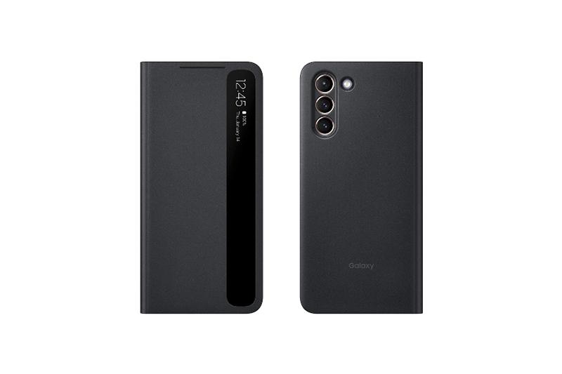 Smart Clear VIew Cover(Galaxy S21 5G用)ブラック 国内版