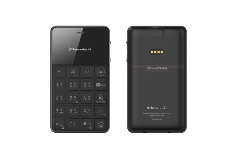 FutureModel Niche Phone-S Plus ブラック