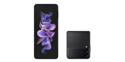 au Galaxy Z Flip3 5G SCG12 ファントムブラック