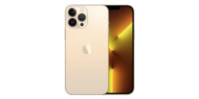 Apple iPhone 13 Pro Max ゴールド