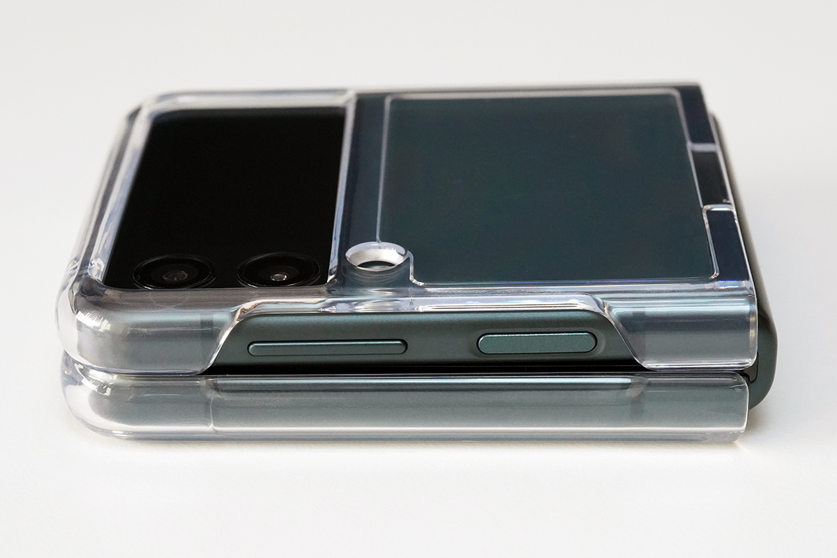 Samsung Galaxy Z Flip3 5G Clear Cover with Ring EF-QF711C