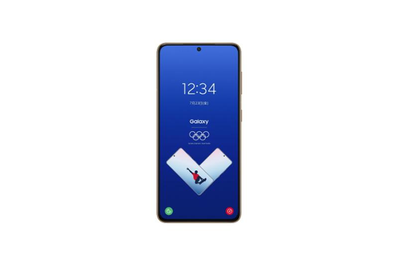 Samsung Galaxy S21 5G Olympic Games Athlete Edition ファントムブルー