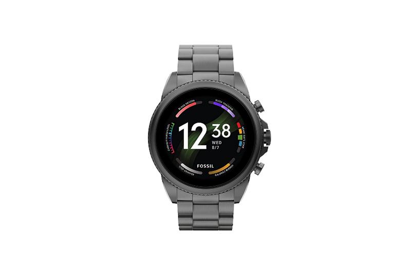 FOSSIL Generation 6 Smartwatch Smoke Stainless Steel FTW4059