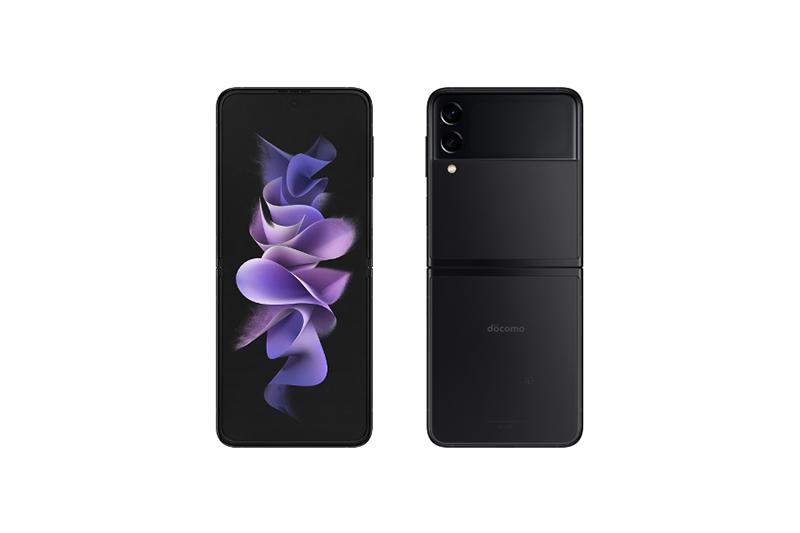 NTTドコモ Galaxy Z Flip3 5G SC-54B ファントムブラック