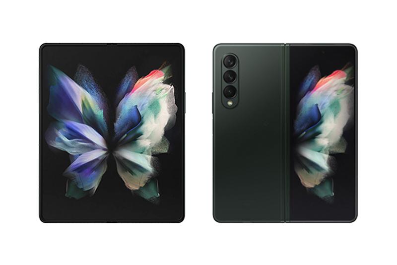 au Galaxy Z Fold3 5G SCG11 ファントムグリーン